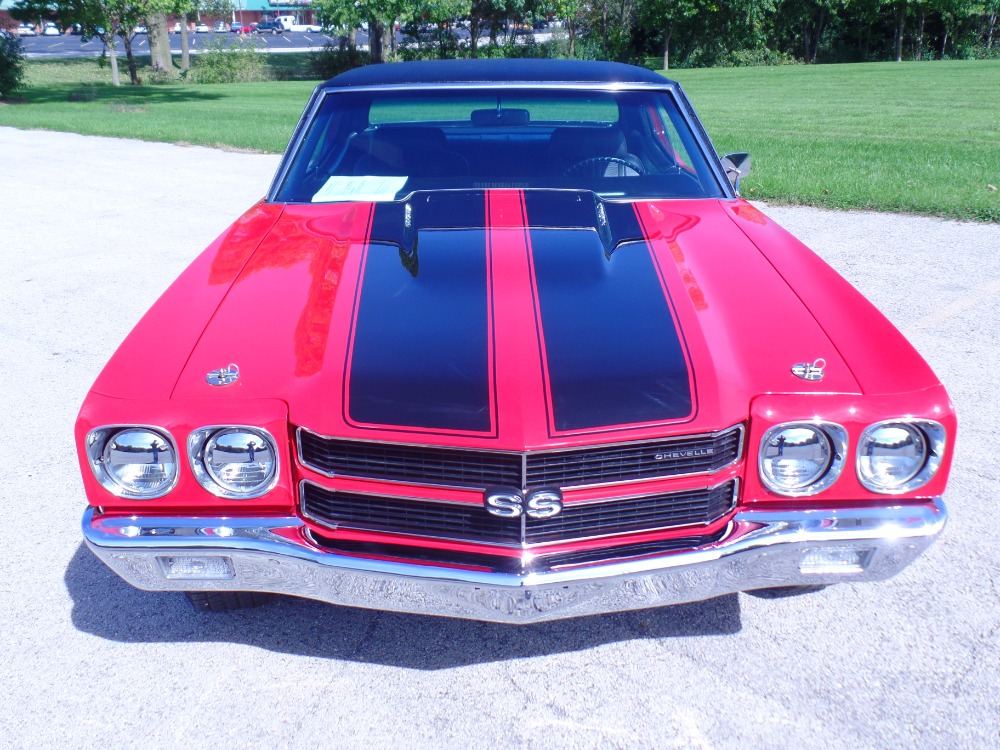 Used 1970 Chevrolet Chevelle -SS 454 BIG-BLOCK-with 4 Speed-FRAME OFF Restored- SEE VIDEO | Mundelein, IL