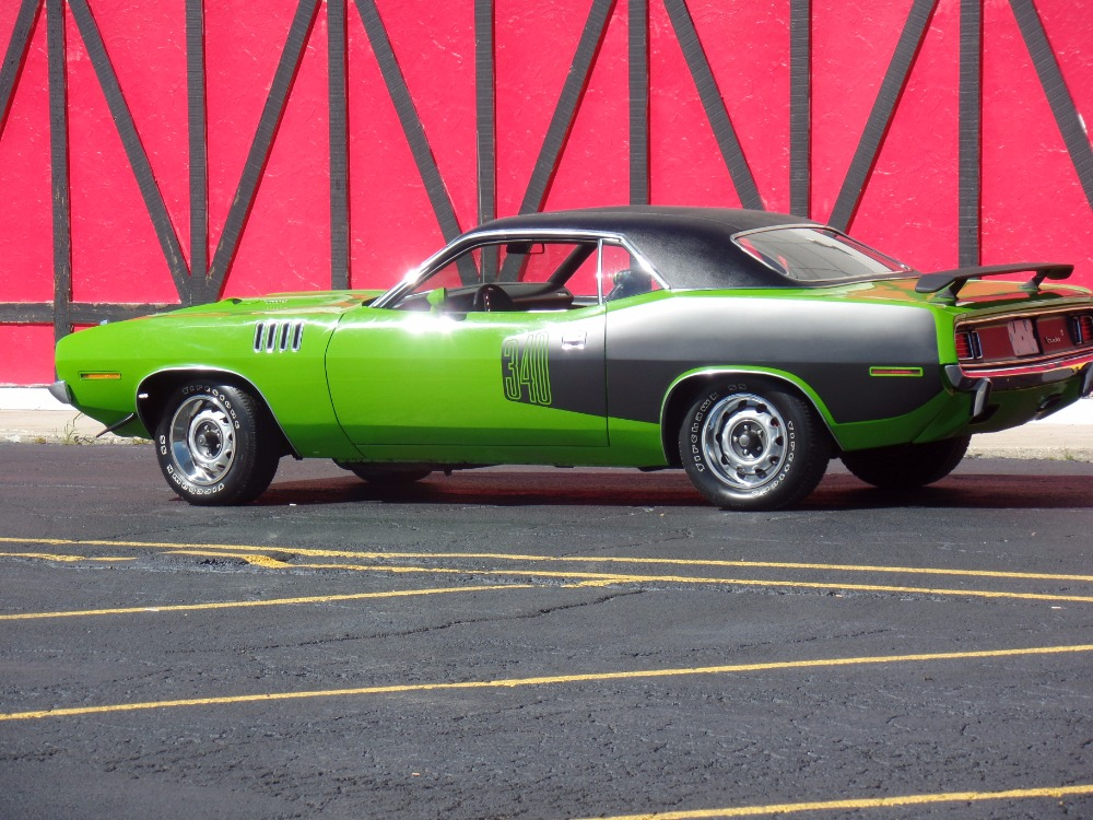 Used 1971 Plymouth Cuda Sassy Grassy Green Featured In The Movie Phantasm Chips