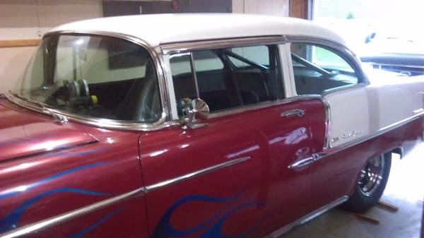Used 1955 Chevrolet Bel Air - PRO-STREET- WARNING: DRIVES VERY FAST - | Mundelein, IL