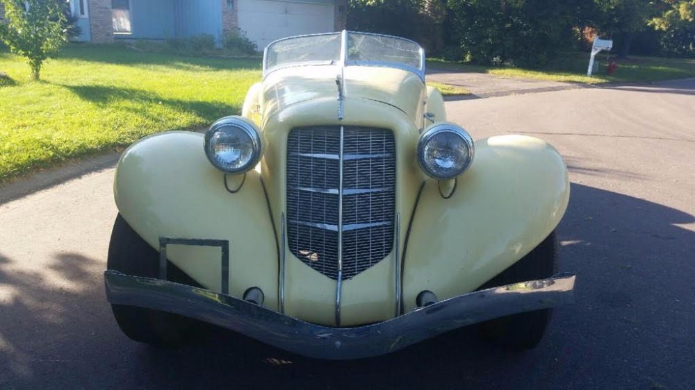 Used 1936 Auburn Boat Tail -SPEEDSTER REPLICA-PROJECT- | Mundelein, IL