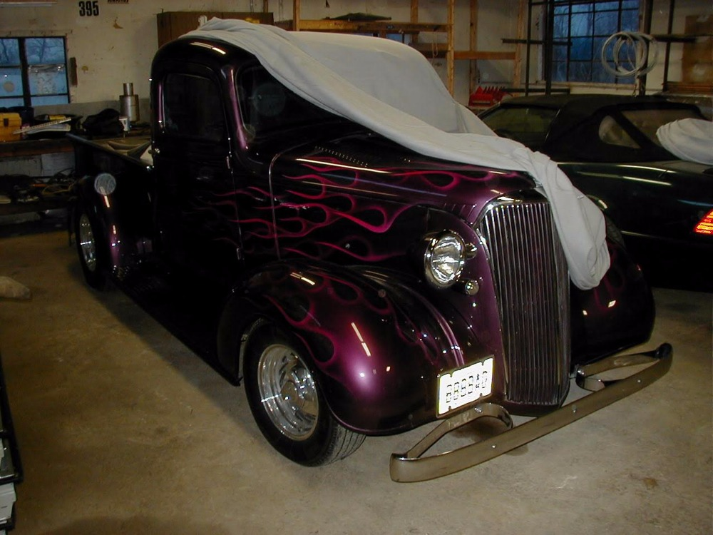 Used 1937 Chevrolet Pickup - STEEL BODY- FIBERGLASS REAR FENDERS-STREETROD | Mundelein, IL