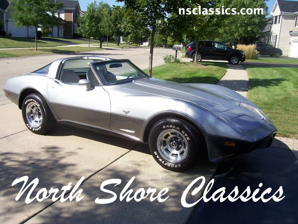 Used 1978 Chevrolet Corvette - 25th SILVER ANNIVERSARY- NUMBERS MATCHING- | Mundelein, IL