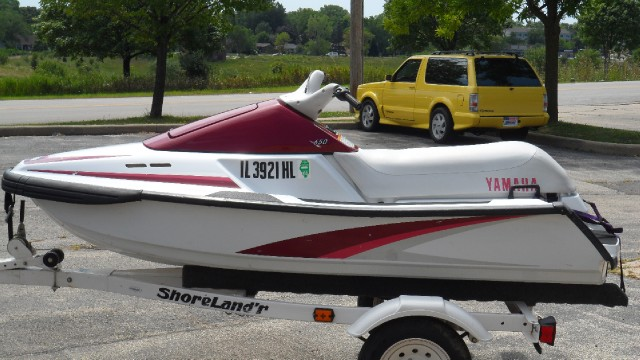 1994 Yamaha Waverunner 650/With Shorelander Trailer Stock ...