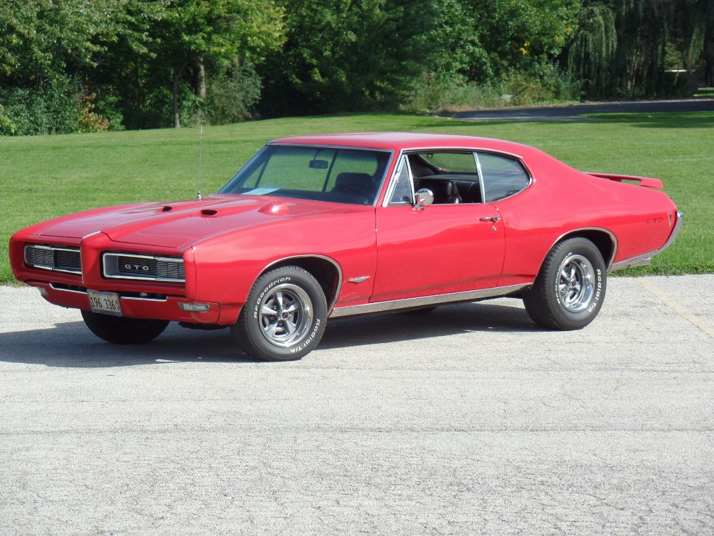 Used 1968 Pontiac GTO -RED AND READY-REAL 242 GTO-GREAT QUALITY CONDITION-SEE VIDEO | Mundelein, IL