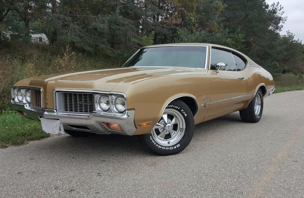 1970 Oldsmobile Cutlass S Galleon Gold 350 V 8 Stock 12570iavp For Sale Near