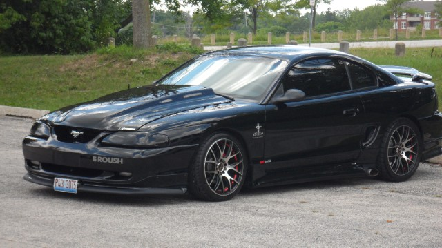 1998 Ford Mustang Gt Roush Edition Supercharged Nos See Video Stock 98305 For Sale Near