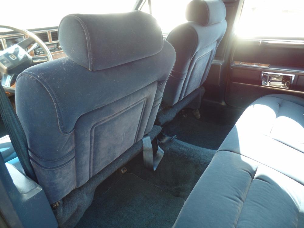 1987 Lincoln Town Car Original Low Miles 5 0 L Engine border=