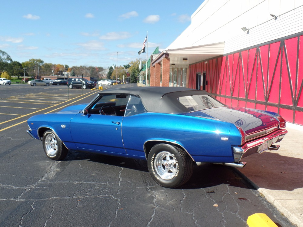 Used 1969 Chevrolet Chevelle -CONVERTIBLE-502 ENGINE-AWESOME PAINT-BUILT TOP NOTCH-SEE VIDEO | Mundelein, IL