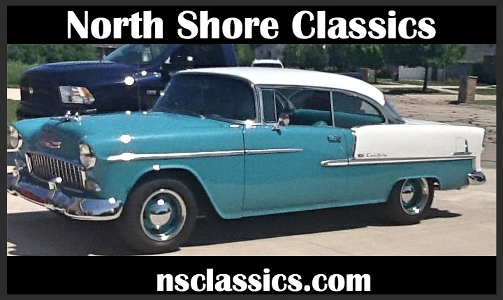 Used 1955 Chevrolet Bel Air -COMPLETE RESTO- VERY CLEAN | Mundelein, IL
