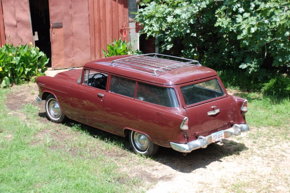 Used 1955 Chevrolet Station Wagon -RARE 150 MODEL- NUMBERS MATCHING- | Mundelein, IL