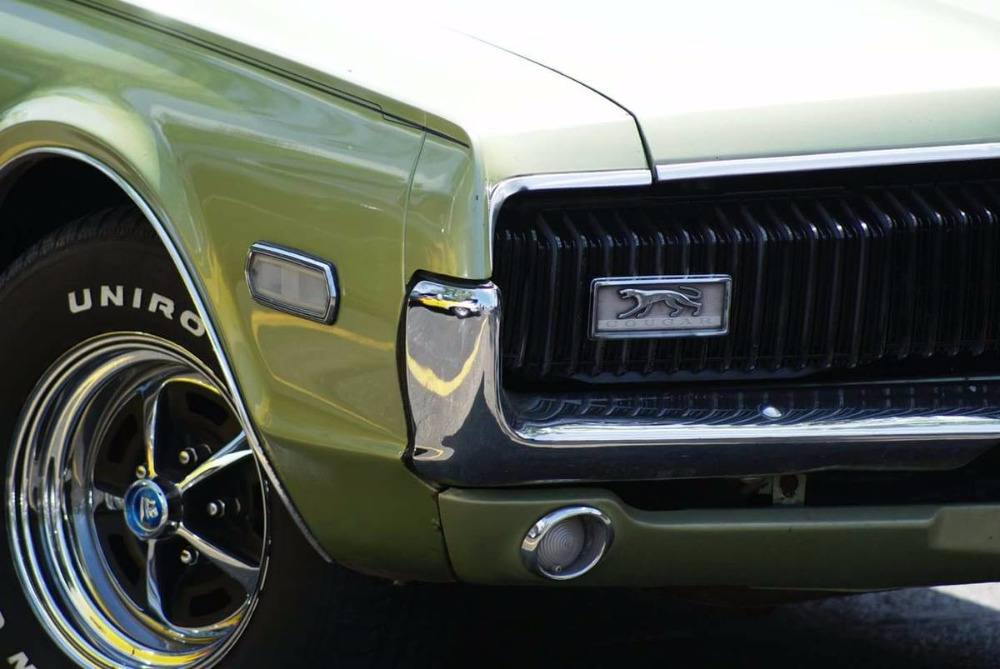 1968 Mercury Cougar -XR7- LIME FROST- 302 V8- GREAT AFFORDABLE ...