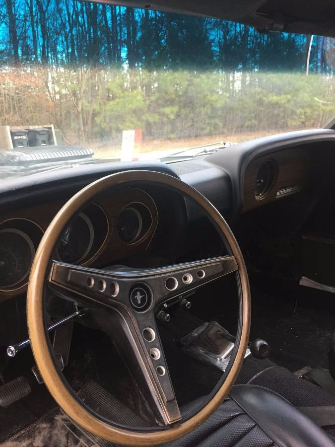 1969 Ford Mustang Mach 1 63 C Code 351 Windsor V 8 Stock