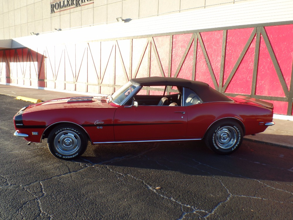 Used 1968 Chevrolet Camaro -CONVERTIBLE SS W/ 4 SPEED-SWEET RIDE-SOUTHERN CAR-SOLID & SWEET! SEE VIDEO | Mundelein, IL