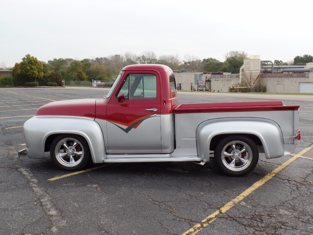 Used 1954 Ford Pickup F100-CUSTOM SHOW TRUCK-PRO TOURING- DRIVERS WANTED- SEE VIDEO | Mundelein, IL
