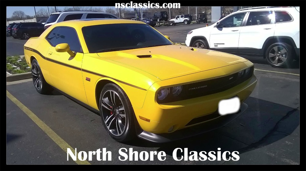2012 Dodge Challenger Yellow Jacket Limited Edition Scat Pak 6 4l