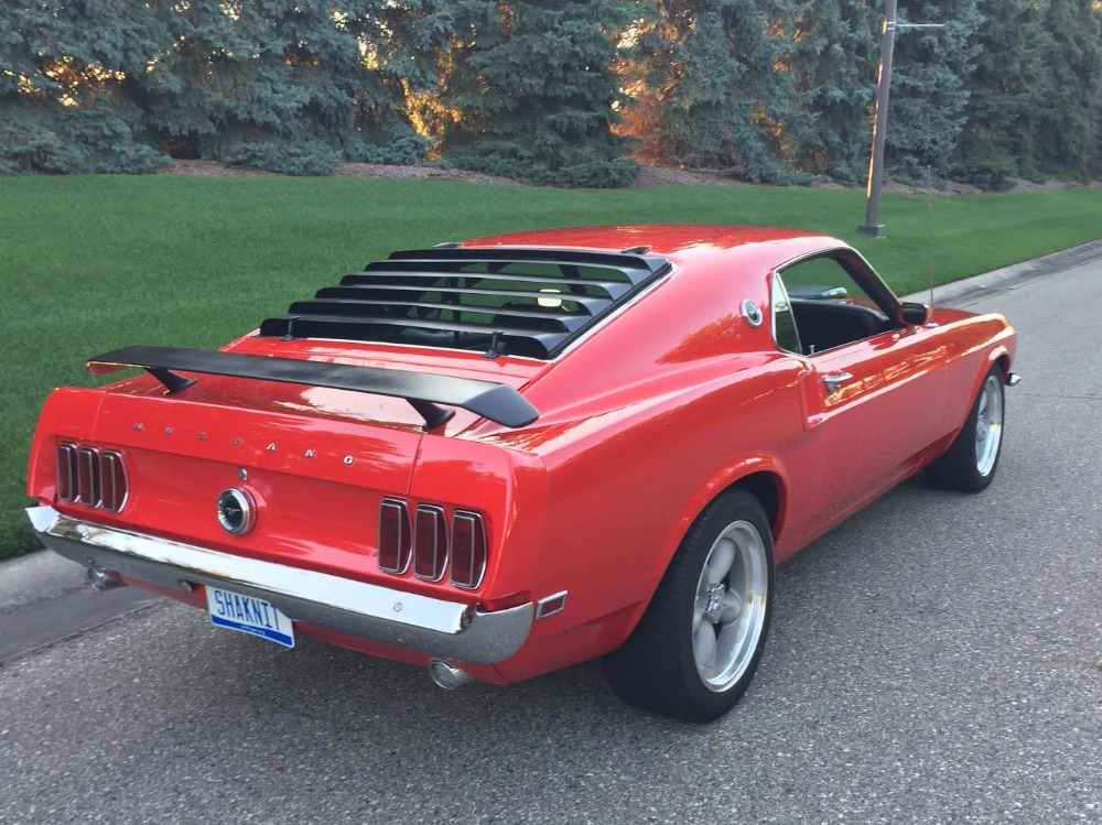 1969 ford mustang 428 cobra jet r code mustang stock 69428mikf for sale near mundelein il. Black Bedroom Furniture Sets. Home Design Ideas