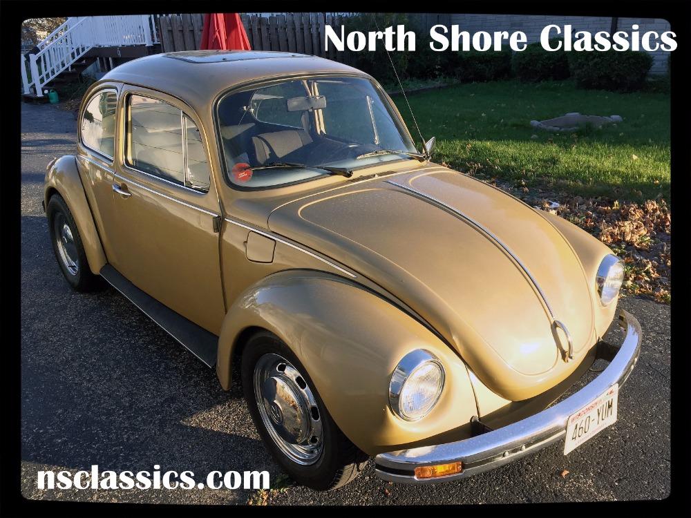 1973 Volkswagen Beetle Rebuilt Engine With 70000 Miles