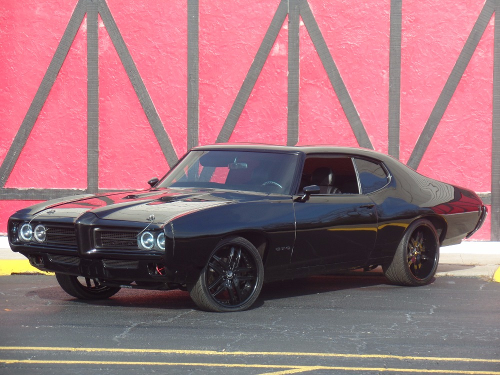 Used 1969 Pontiac GTO -Custom Pro Touring-LS1 Fuel injected-SHOW CAR-SEE VIDEO | Mundelein, IL