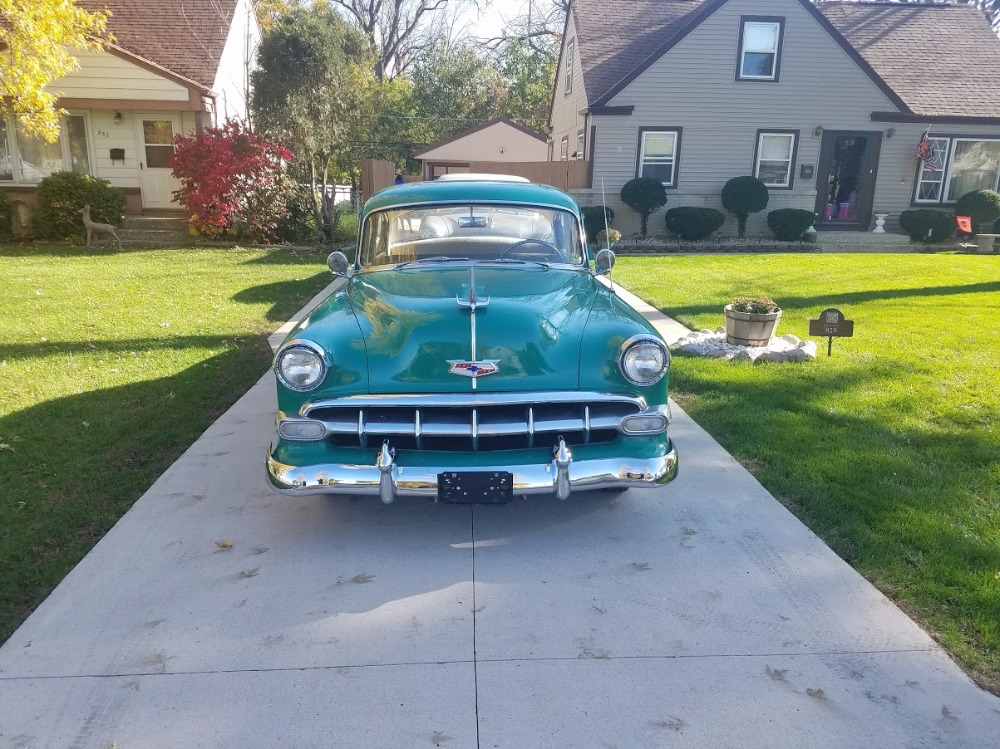 Used 1954 Chevrolet Bel Air - STRAIGHT 6- 3SPEED MANUAL -NUMBERS MATCHING-NEW LOW PRICE- | Mundelein, IL
