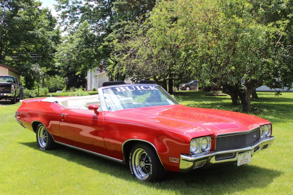 Used 1971 Buick Skylark -CONVERTIBLE-WHITE TOP- NUMBERS MATCHING | Mundelein, IL
