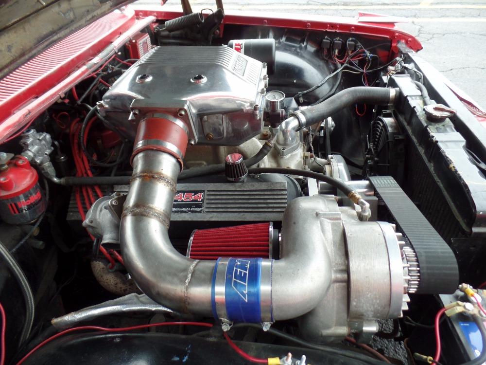 1959 Chevrolet El Camino SLAMMED-Supercharged Big block 454-AIR RIDE