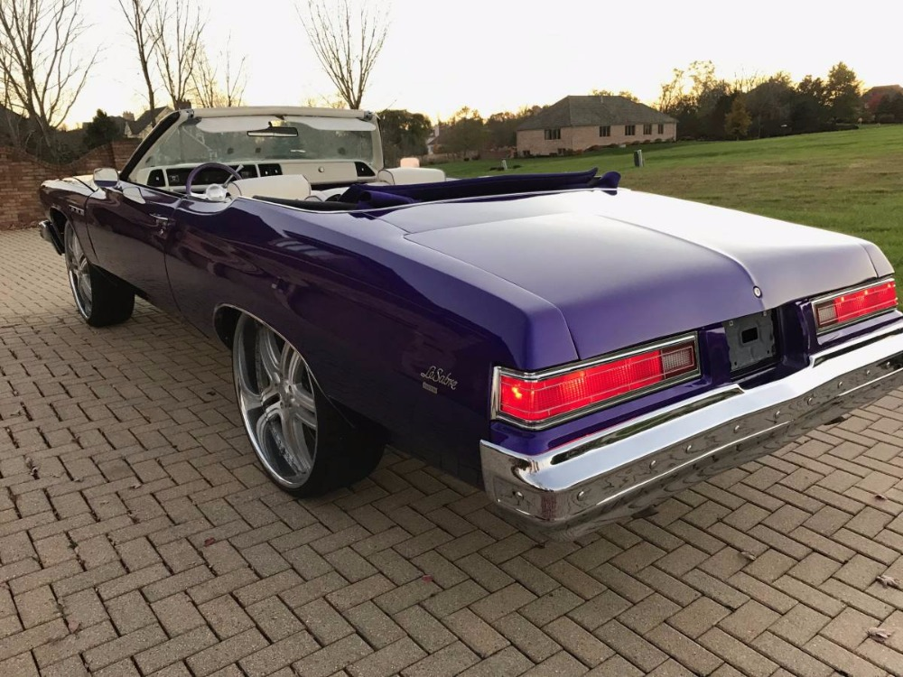Used 1975 Buick LeSabre -CUSTOM CONVERTIBLE WITH 26 INCH RIMS- SEE VIDEO | Mundelein, IL