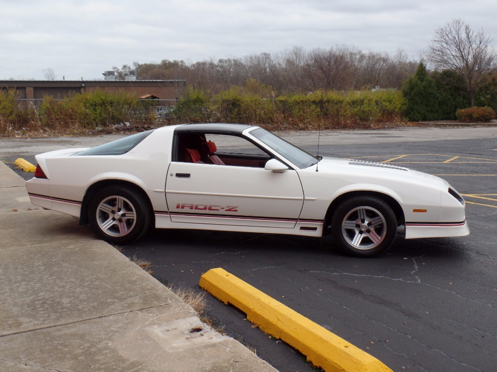 Used 1989 Chevrolet Camaro IROC Z- 50,310 ORIGINAL MILES- Numbers Matching- SEE VIDEO | Mundelein, IL