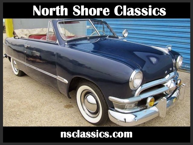 Used 1950 Ford Deluxe NUMBERS MATCHING FLATHEAD V8-FUN DRIVER CONVERTIBLE | Mundelein, IL