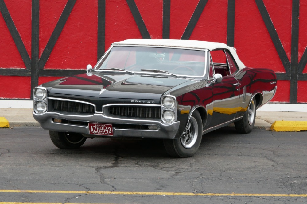 1967 Pontiac Lemans GTO CONVERTIBLE-TIME CAPSULE/SURVIVOR-SOLID