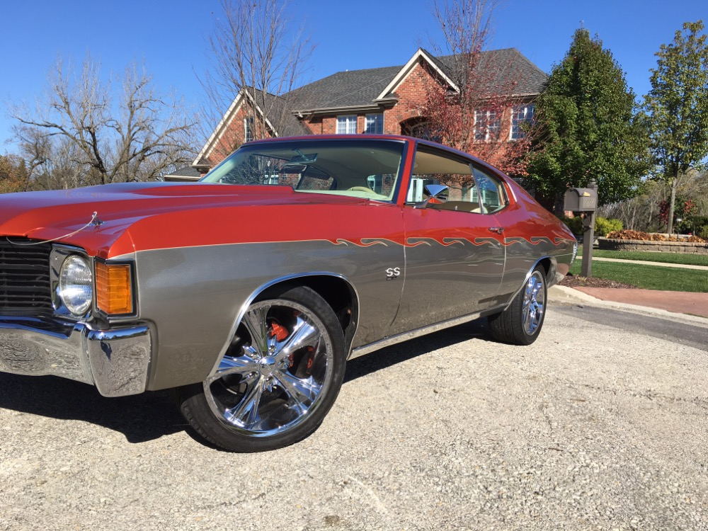 Used 1972 Chevrolet Chevelle -SHOW CAR-HIGH END CUSTOM PRO TOURING BUILD-CUSTOM INTERIOR-SEE VIDEO | Mundelein, IL