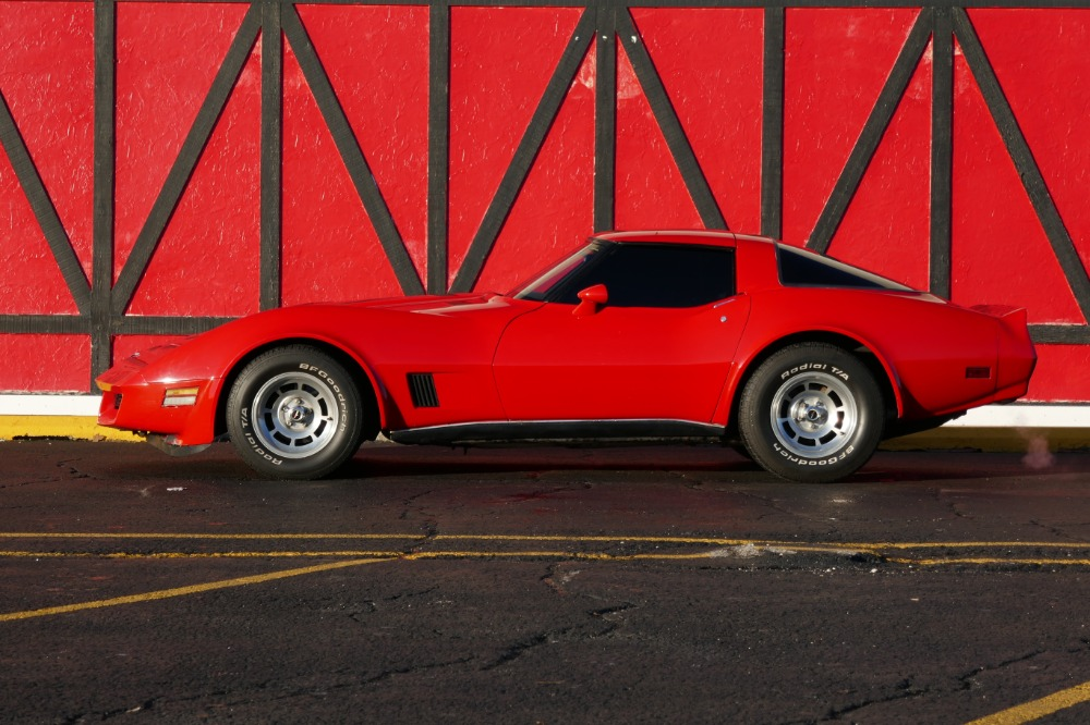 Used 1980 Chevrolet Corvette -AWESOME LOW MILEAGE LITTLE RED STINGRAY-NICE CONDITION-T-TOPS-SEE VIDEO | Mundelein, IL
