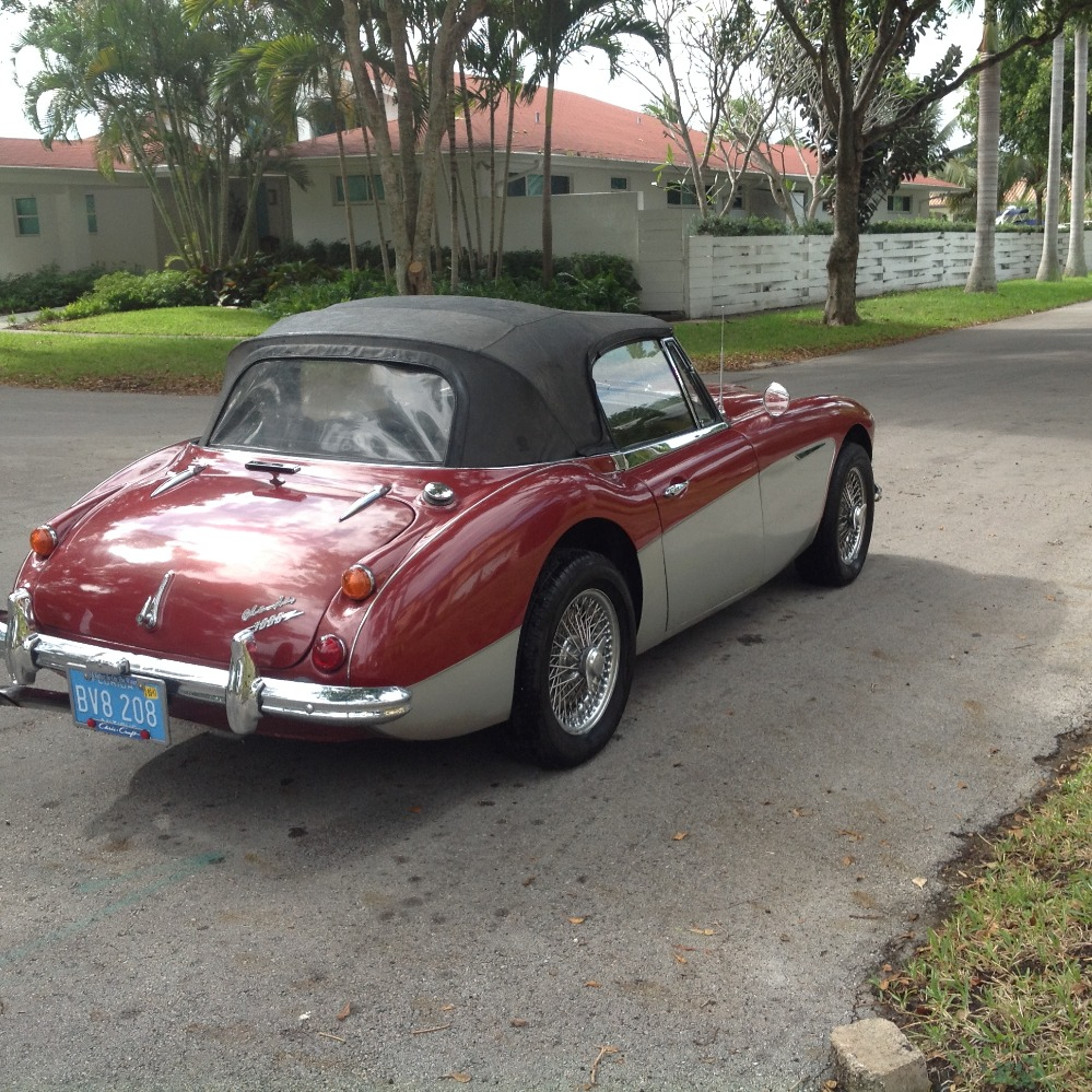 Used 1967 Austin Healey 3000 2 OWNER CONVERTIBLE- CALI CAR- DUAL EXHAUST | Mundelein, IL