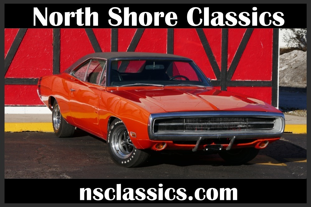 Used 1970 Dodge Charger -REAL XP CODE-500-Hemi Orange 440-Clean & Solid Mopar-BUILD SHEET-SEE VIDEO | Mundelein, IL