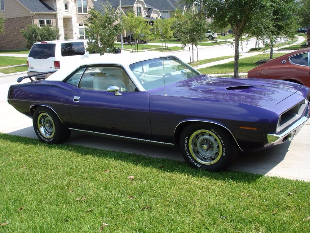 Used 1970 Plymouth Cuda -PLUM CRAZY PURPLE-ORIGINAL NUMBERS MATCHING TEXAS CAR-INCREDIBLE CONDITION | Mundelein, IL