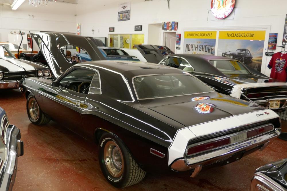 Used 1970 Dodge Challenger -BLACK ON BLACK-360- FRESH RESTORED-NEW JET BLACK PAINT-SHAKER HOOD-   Mundelein, IL