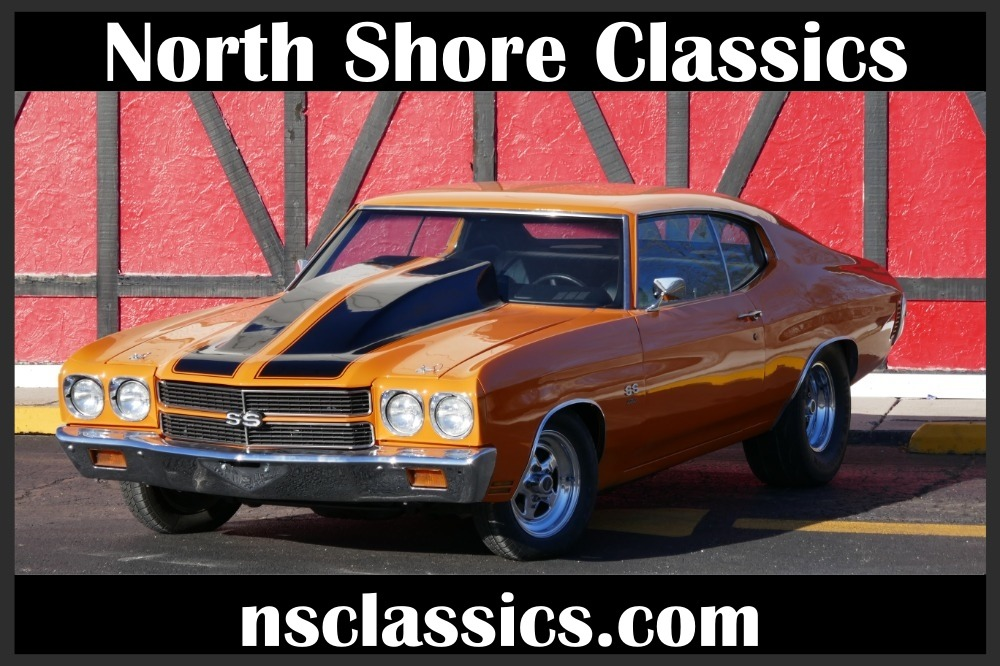 1970 Chevrolet Chevelle Ss396 Super Sport With Supercharger Clean