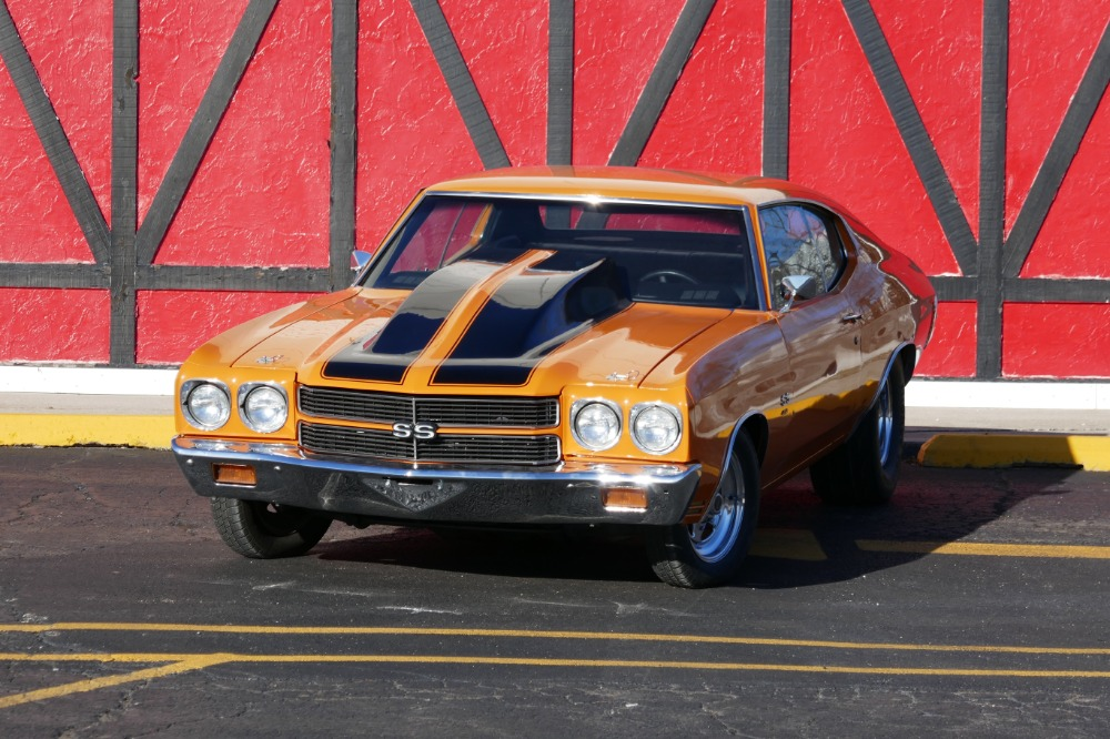 1970 Chevrolet Chevelle -SS396 SUPER SPORT WITH SUPERCHARGER-CLEAN ...