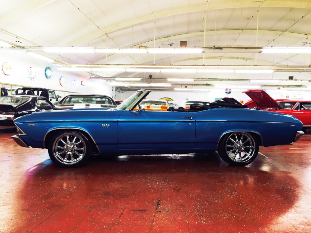 Used 1969 Chevrolet Chevelle -PRO TOURING-NUMBERS MATCHING SS396-4SPEED-CONVERTIBLE SEE VIDEO | Mundelein, IL