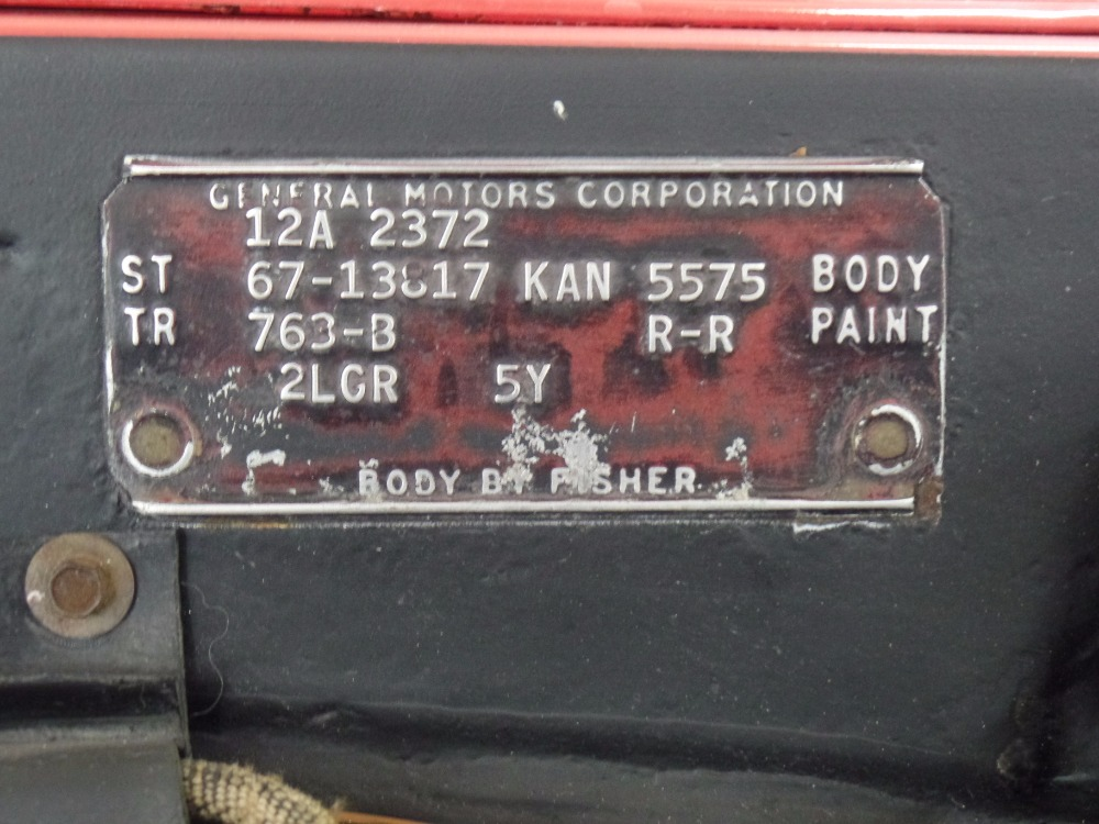 Used 1967 Chevrolet Chevelle SS-NEW RED PAINT-ALL ORIGINAL NUMBERS MATCHING- SEE VIDEO | Mundelein, IL