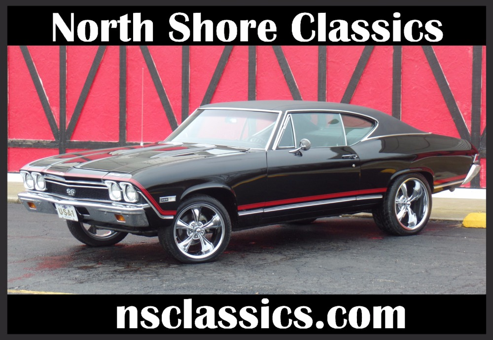 Used 1968 Chevrolet Chevelle SS396-CONCOURSE SILVER SPINNER AWARD-FRAME OFF RESTO-REAL DEAL-SEE VIDEO | Mundelein, IL