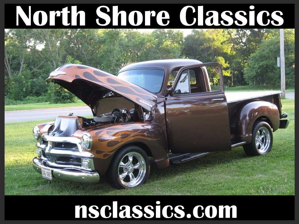 Used 1954 Chevrolet 3100 ROOT BEER METALLIC BROWN 383 STROKED V8 PICKUP | Mundelein, IL