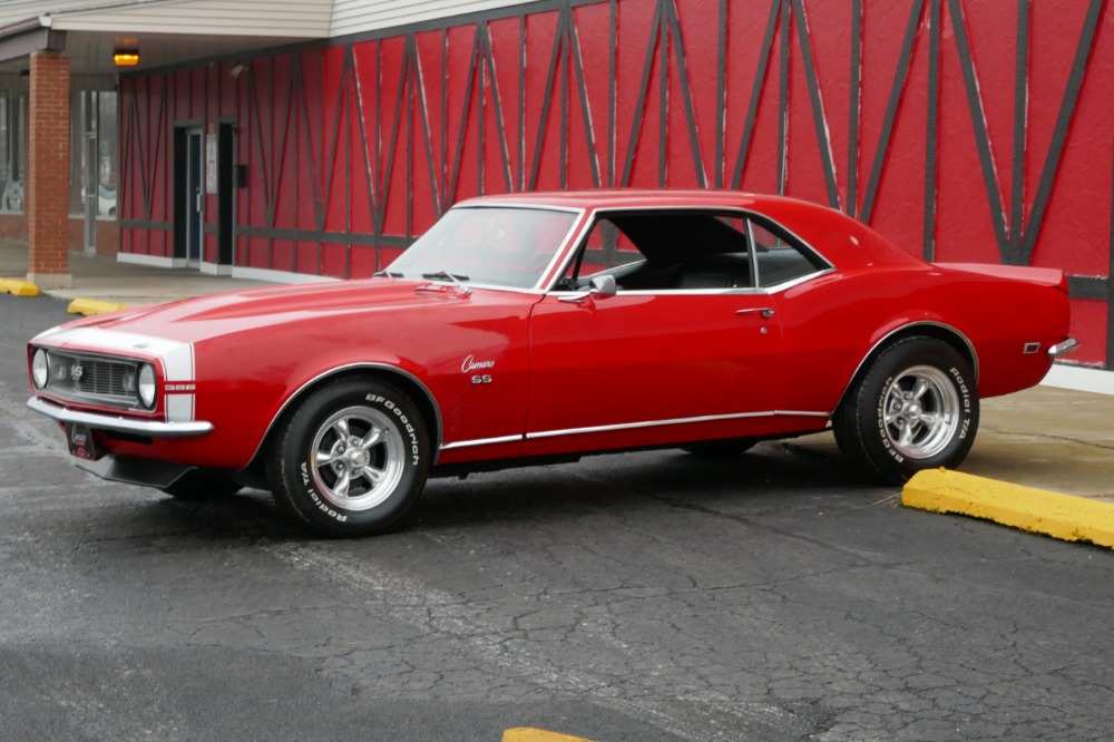 Used 1968 Chevrolet Camaro SS396-NICE SLICK RED PAINT-VERY CLEAN-BIG BLOCK-1ST GEN CAMARO-SEE VIDEO | Mundelein, IL