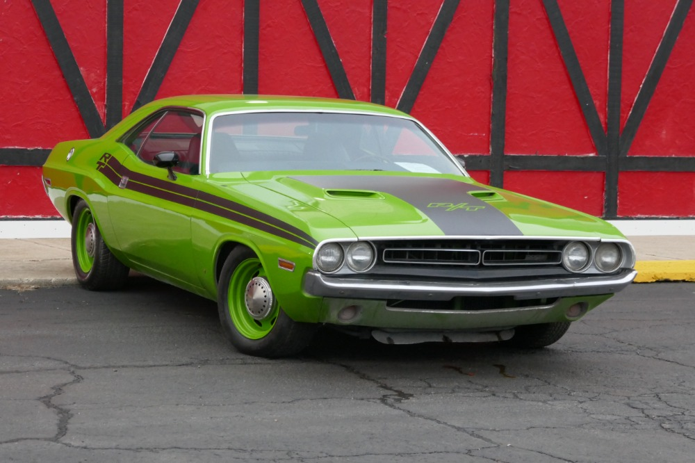 Used 1971 Dodge Challenger -4 SPEED WITH 383 BIG BLOCK-CALI CAR-RT TRIBUTE-SOLID MOPAR- SEE VIDEO | Mundelein, IL