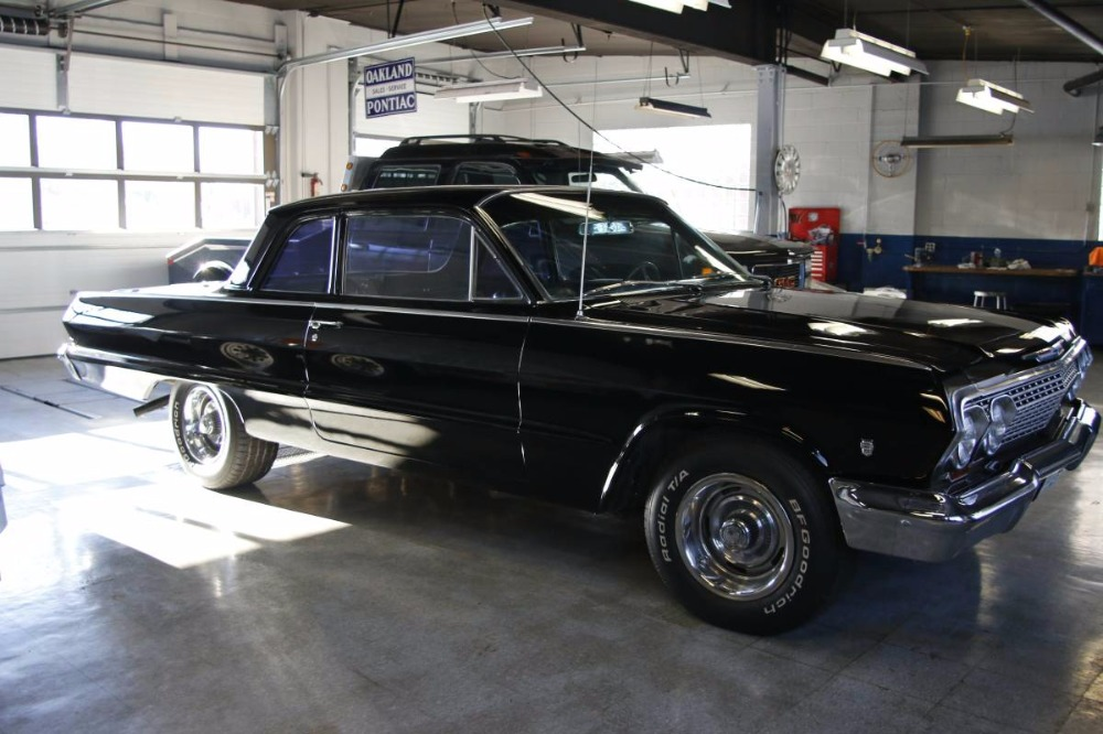 Used 1963 Chevrolet Biscayne 502 V8 BLACK ON BLACK COLOR COMBO | Mundelein, IL