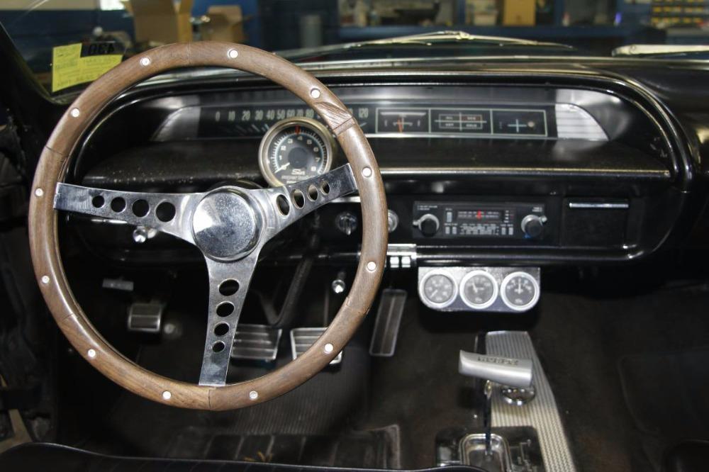 Used 1963 Chevrolet Biscayne 502 V8 BLACK ON BLACK COLOR COMBO | Mundelein, IL