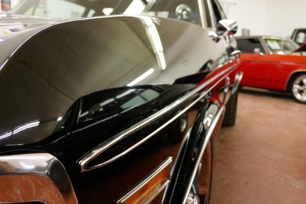 Used 1970 Chevrolet Nova BLACK ON BLACK SLEEPER WITH SS UPGRADES-GREAT PAINT-READY TO ROLL! | Mundelein, IL