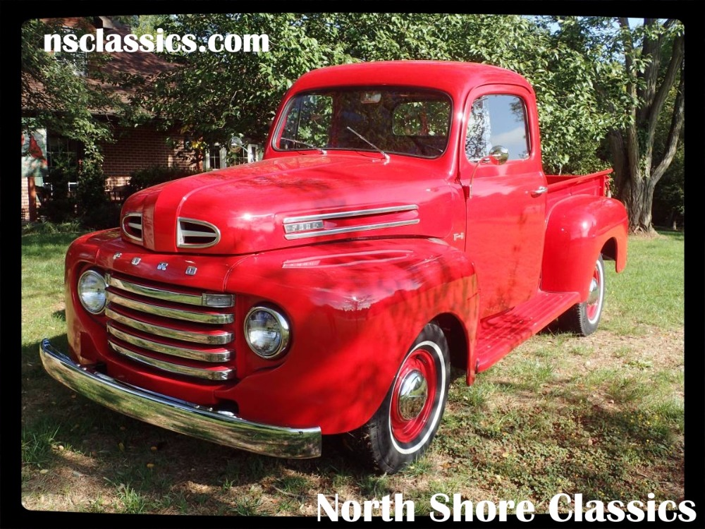 1949 Ford F1 Rare 4speed Frame Off Fully Restored Pickup Truck Rhnsclassics: Location Of Frame Vin 1948 F 1 Ford Pickup At Gmaili.net