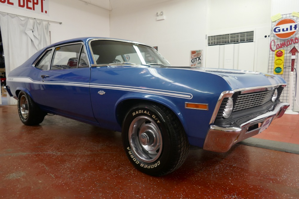 Used 1971 Chevrolet Nova -NEW BUILT BB 427-YENKO TRIBUTE-DISC BRAKES/NEW MARINA BLUE PAINT- | Mundelein, IL
