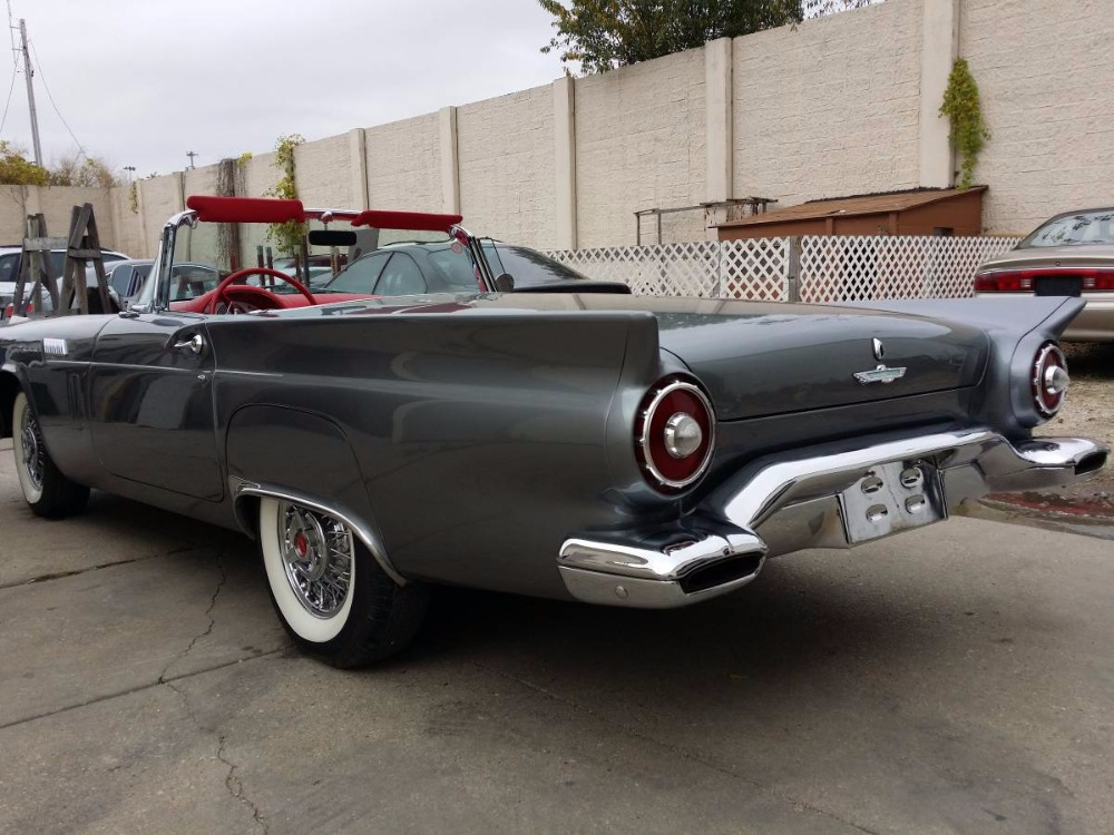 Used 1957 Ford Thunderbird - GUN METAL GREY CONVERTIBLE CLASSIC- | Mundelein, IL