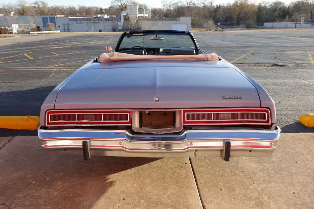 1974 Chevrolet Caprice -ONE OWNER -CLASSIC- CONVERTIBLE- SEE